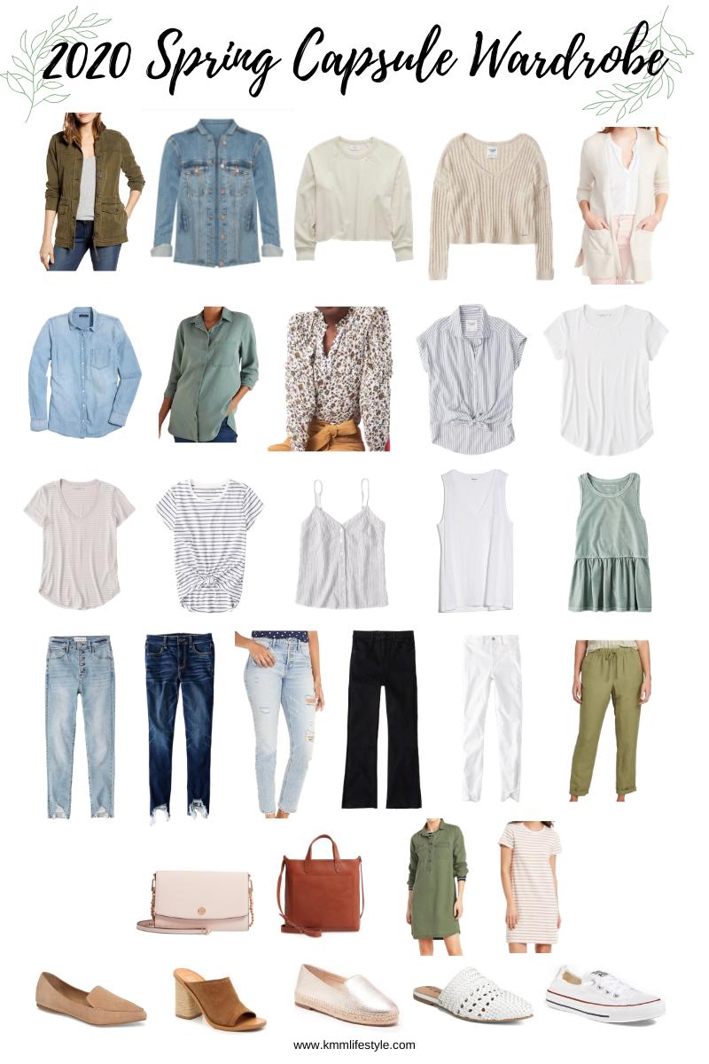 7 Spring Capsule Wardrobe by KMM Lifestyle